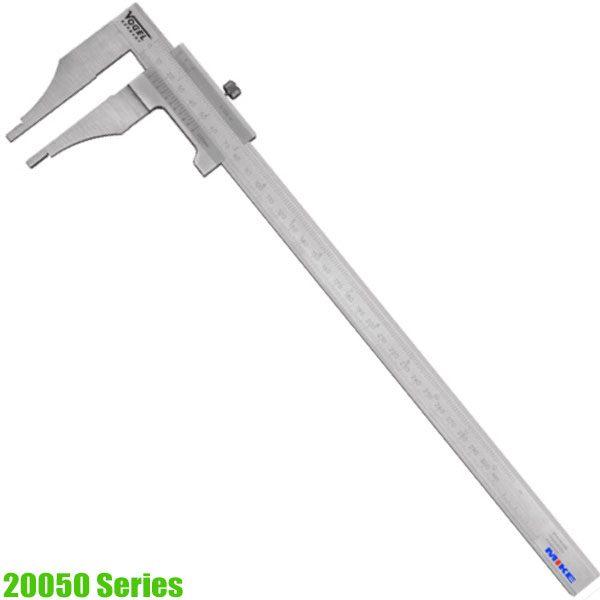 20050 Series Thước kẹp cơ khí, ngàm kẹp đôi, khóa bằng vít, sx tại Đức