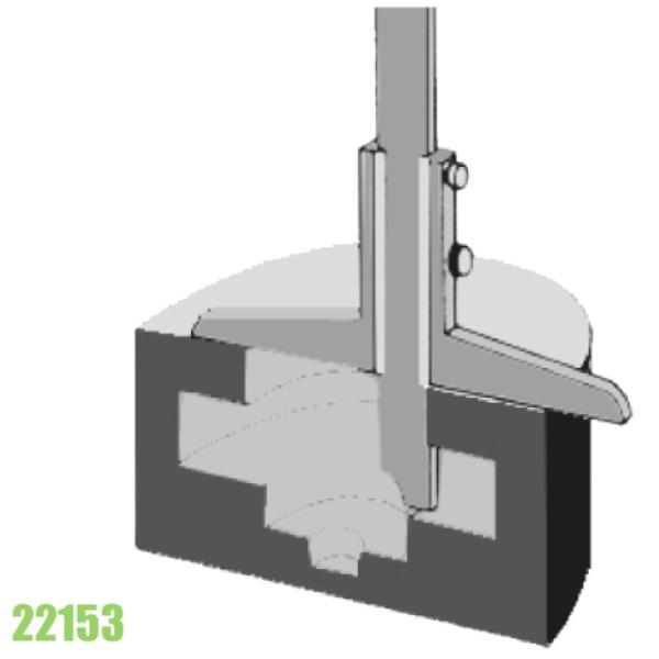 Thước đo độ sâu kiểu C - Vogel Germany 22153