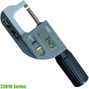 23010 Series Panme điện tử đo ngoài 0-102mm, độ chính xác ±0.001mm, sx tại Đức