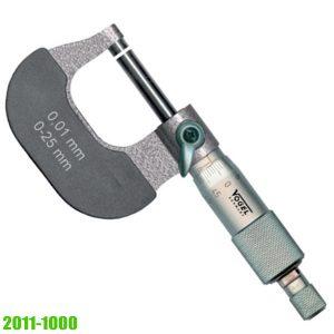 23135 Panme cơ đo ngoài 0-200mm, độ chính xác 0.01mm. Sx tại Đức