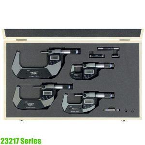 23217 Series bộ panme điện tử 0-100mm, 3-4 chi tiết, chống nước IP65