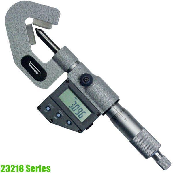 23218 Series Panme điện tử đo ngoài 1-105mm, ngàm chữ V