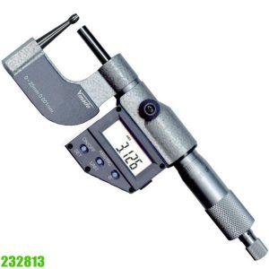 232813 Panme điện tử đo ngoài 0-25mm, độ chính xác 0.001 mm