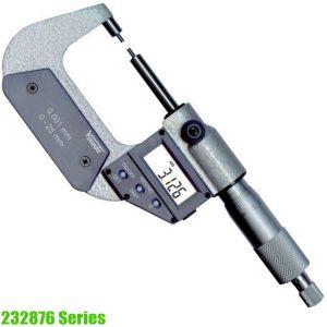232876 Series panme đo ngoài điện tử 0-50mm, loại đặc biệt, sx tại Đức