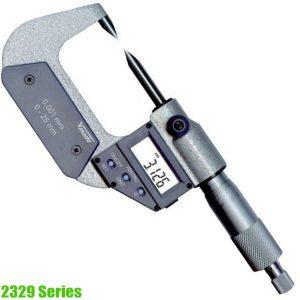 2329 Series panme đo ngoài điện tử 0-25mm, loại đặc biệt, sx tại Đức