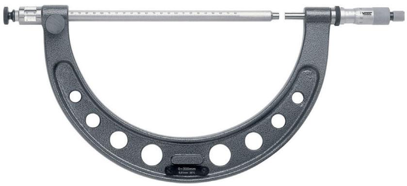 2342 Series Panme cơ đo ngoài 0-2 mét, độ chính xác 0.1mm. sx tại Đức
