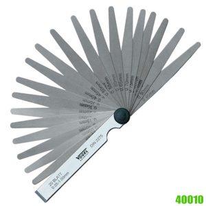 40010 Series Thước căn lá 8-20 lá, đo khe hở 0.05-1.0 mm