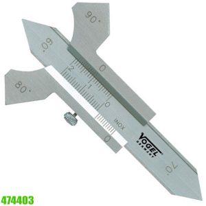 474403 Thước đo chiều cao đường hàn 0-20mm, độ chính xác 0.01mm