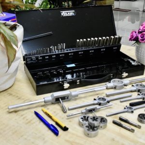 bộ dụng cụ ta ro ren trong ngoài kết hợp Volkel 49251