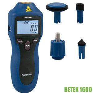 610280 - BETEX 1600 máy đo tốc độ vòng không tiếp xúc, cơ khí.