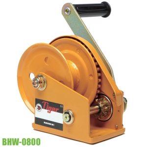 BHW-0800 tời tay 1 chiều tải trọng 360kg, kéo cáp, khóa bánh cóc.