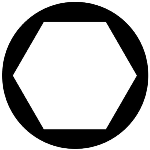 đầu tuýp 6 cạnh, góc xoay hiệu dụng 60 độ. ELORA Germany