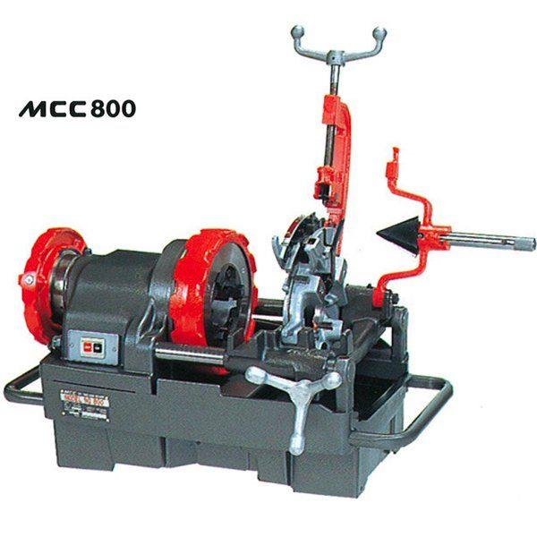 MCC800 máy tiện ren ống 3 inch bán tự động, bulong, MCC Japan.