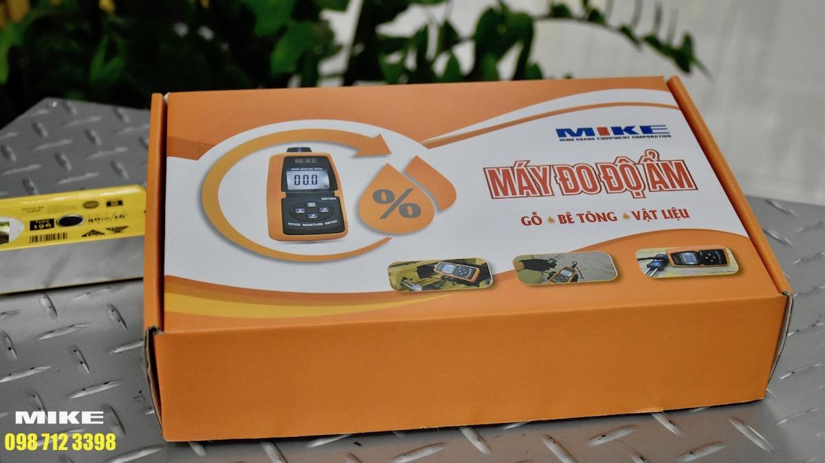 hộp carton bảo quản và vận chuyển máy đo độ ẩm bột giấy.