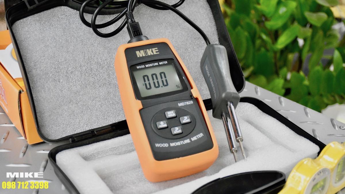 Cảm biến dạng 2 kim của máy đo độ ẩm gỗ.