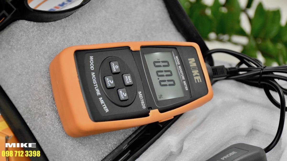 Vỏ chống sock có thể tháo lắp của máy đo độ ẩm vật liệu