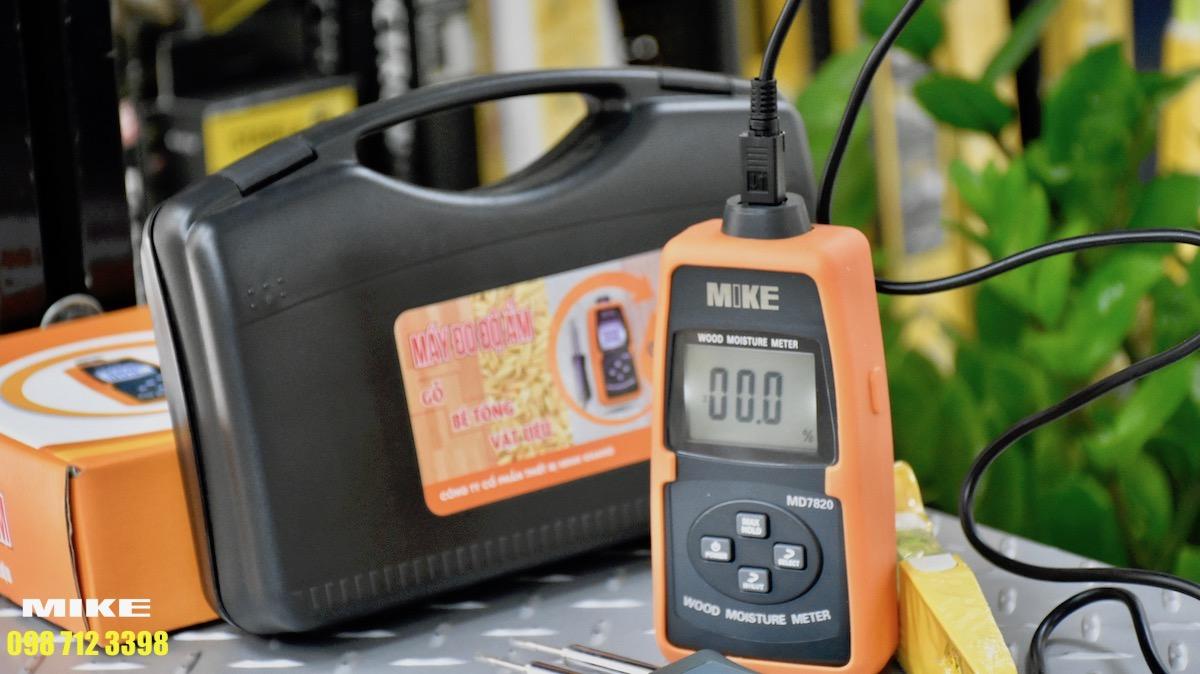 Vali nhựa cứng chuyên dụng của máy đo độ ẩm gỗ