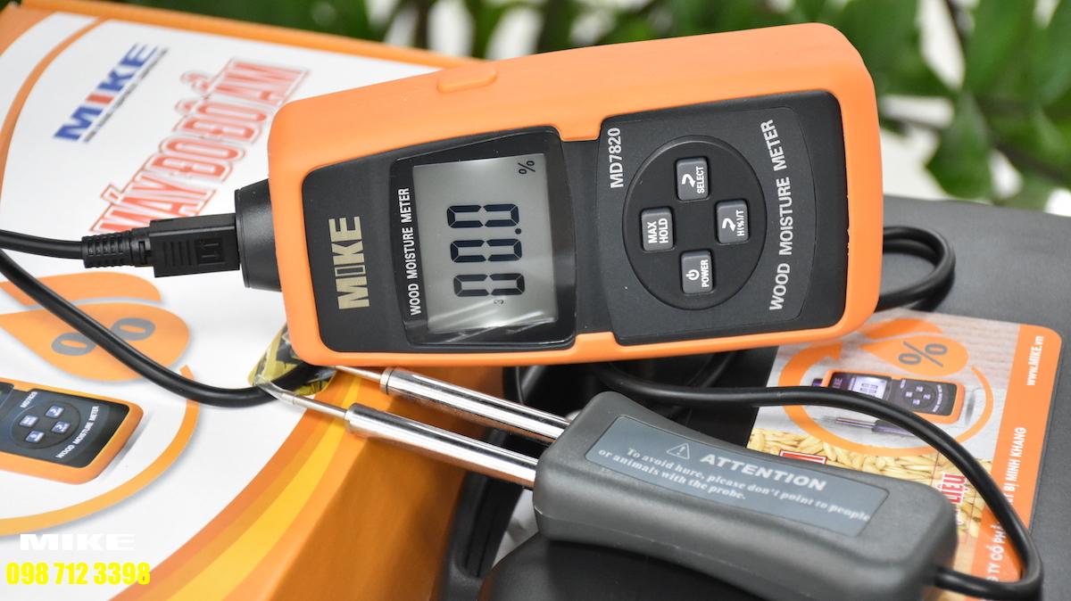 4 chương trình đo độ ẩm gỗ khác nhau.