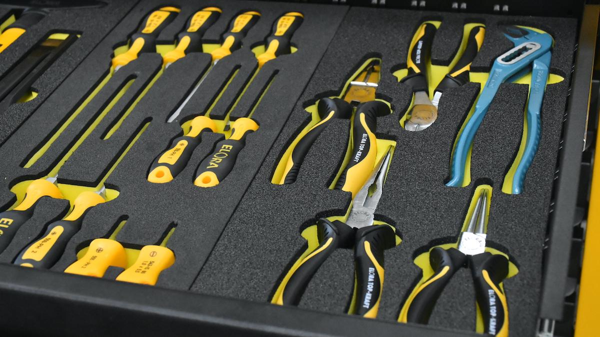 Bộ kềm 5 cây chuyên cho tủ đồ nghề OMS-5