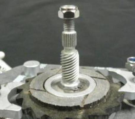 Co cấu khóa hay break của palang xích TCB