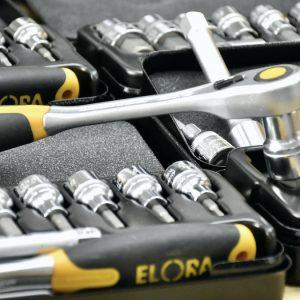 Bộ socket lục giác chìm 12 cây ELORA 770-KINMK