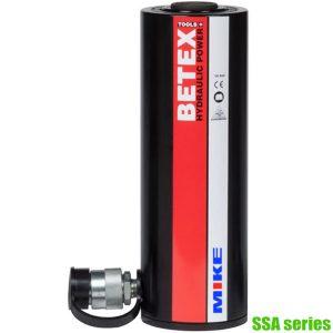 SSA series Kích thủy lực 20-100 tấn, hành trình 50-250mm 1 chiều BETEX