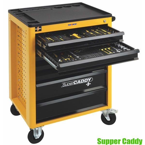 Supper Caddy Tủ đồ nghề 7 ngăn 150 món ELORA sx tại Đức