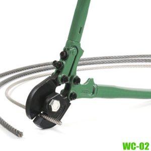 WC-02 Kìm cắt cáp xoắn 8-20mm size 18-42 inch, MCC Japan.