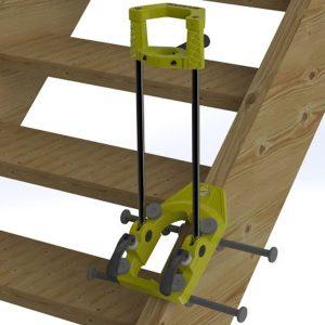 1406 Chân đế khoan 350mm, chuyên dụng cho thi công cầu thang.