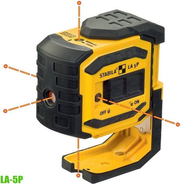 18483 Máy cân mực laser 5 tia, bắn cốt phạm vi 30m, sx tại Đức