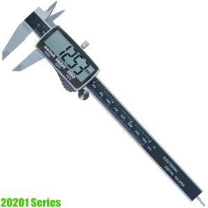 20201 Series Thước kẹp điện tử 150-300mm, độ chính xác 0.01mm, ngàm 40-60mm