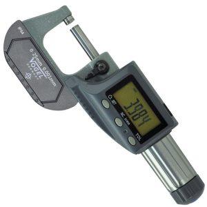 23123 Series panme đo ngoài điện tử 0-100mm, độ chính xác 0.001mm.
