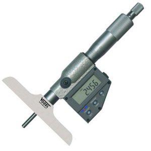 23183 Series panme đo sâu điện tử 0-300mm, độ chính xác 0.001mm