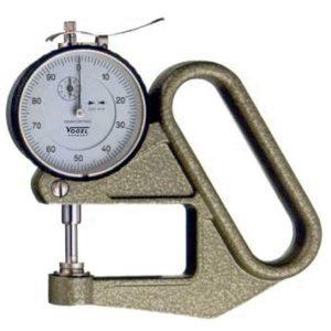 240411 Đồng hồ đo độ dày 0-10 mm, type L, độ chính xác 0.01mm