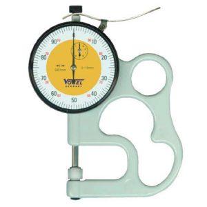 240480 Đồng hồ đo độ dày tôn 0-10 mm, độ chính xác ±0.01mm.