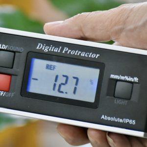 Thước đo góc nghiêng điện tử 4 góc vuông