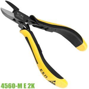 4560-M E 2K kìm cắt chân linh kiện đầu bo tròn lưởi cắt center