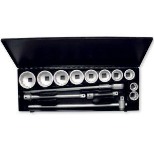 780 Series Bộ tuýp 14 chi tiết hệ inch và mét, đầu vuông 1 inch