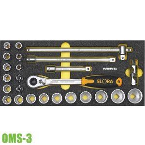 OMS-3 module đầu tuýp 8 đến 32mm, cần tự động cho tủ đồ nghề