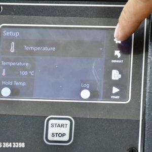chọn gia nhiệt bằng nhiệt độ