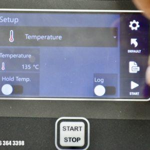 chế độ Hold Temp (hâm nóng) và Log