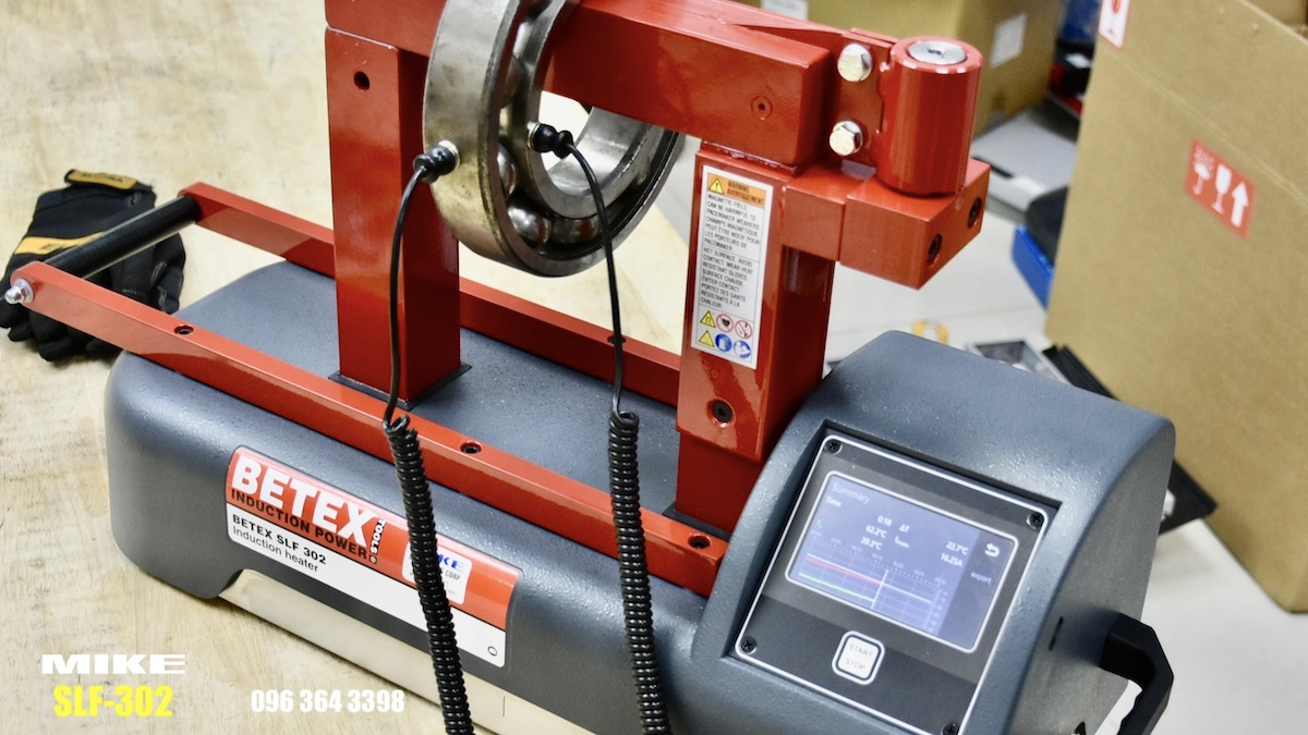 SLF302 máy gia nhiệt thông minh, thế hệ mới của BETEX