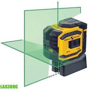LAX300G Máy cân mực laser, chức năng quả rọi, thang đo 30m, sx tại Đức