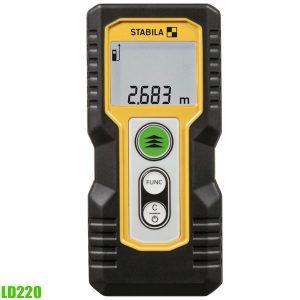 LD220 máy đo khoảng cách bằng laser, tầm đo 0.2 – 30m, độ chính xác ±3.0mm