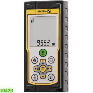 LD420 máy đo khoảng cách laser 100m, độ chính xác ±1.0mm, chống nước IP65