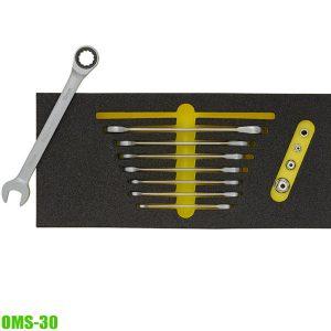 OMS-30 Bộ cờ lê tự động loại lật đảo chiều tiêu chuẩn cho tủ đồ nghề ELORA