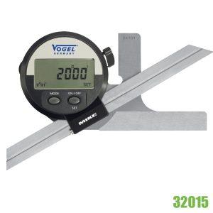 32015 thước đo góc vạn năng 360 độ, hiển thị số, kết nối RS232