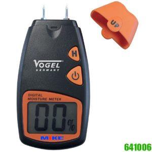 641006 Máy đo độ ẩm vật liệu. Sử dụng 4 cây kim. Vogel Germany