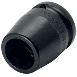 798-E đầu tuýp đen hình sao, dài 38mm, đầu vuông 1/2 inch