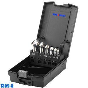 1359S Bộ mũi khoét 6 chi tiết, đường kính từ 6.3 đến 20.5mm